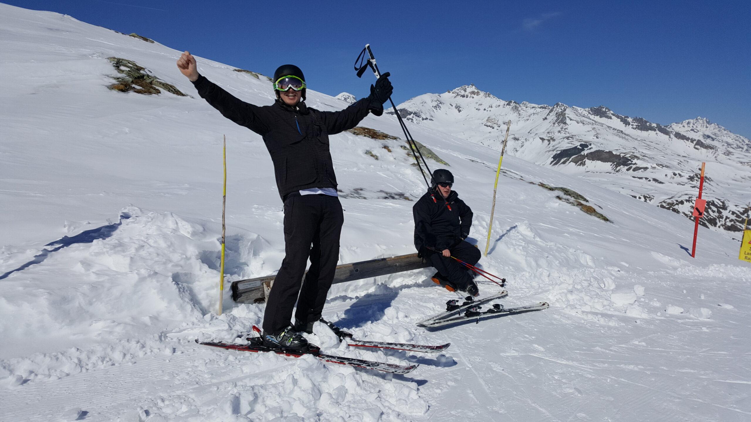 2017 Skiweekend in Bivio